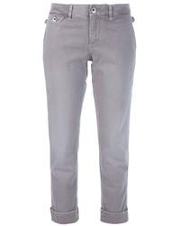 Pantalón chino gris de Jacob Cohen