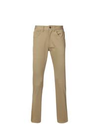 Pantalón chino marrón claro de 321