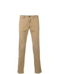 Pantalón chino marrón claro de Briglia 1949