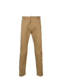 Pantalón chino marrón claro de DSQUARED2