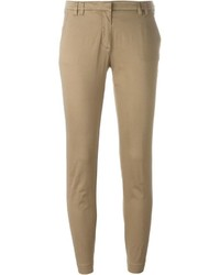 Pantalón chino marrón claro de Eleventy