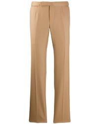 Pantalón chino marrón claro de Ermenegildo Zegna