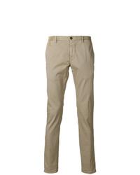 Pantalón chino marrón claro de Incotex