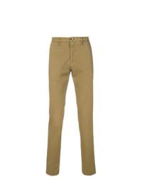 Pantalón chino marrón claro de Lardini
