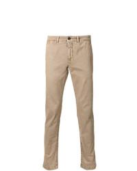 Pantalón chino marrón claro de Moncler