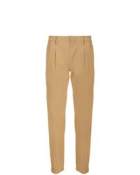 Pantalón chino marrón claro de Paolo Pecora