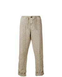 Pantalón chino marrón claro de Stone Island