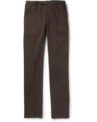 Pantalon chino marron oscuro original 2445099