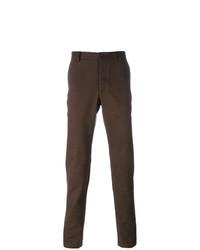 Pantalón chino marrón de Al Duca D'Aosta 1902