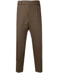 Pantalón chino marrón de Haider Ackermann