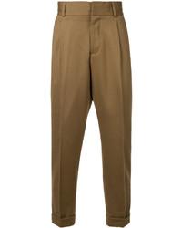 Pantalón chino marrón de Kent & Curwen