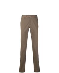 Pantalón chino marrón de Pt01