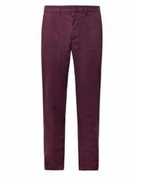 Pantalon chino morado oscuro original 8838105