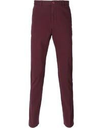 Pantalón chino morado de Etro