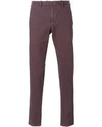 Pantalón chino morado