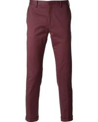 Pantalón chino morado de Paul Smith