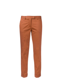 Pantalón chino naranja de Alberto Biani