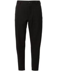 Pantalón chino negro de Ann Demeulemeester