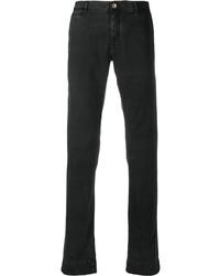 Pantalón chino negro de Hand Picked