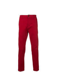 Pantalón chino rojo de Department 5