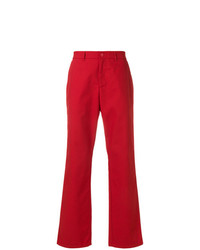 Pantalón chino rojo de Napa By Martine Rose