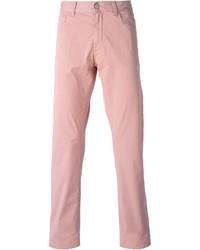 Pantalón chino rosado de Canali