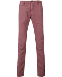Pantalón chino rosado de Incotex