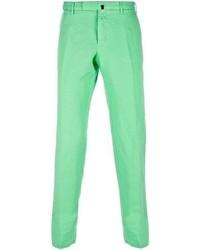 Pantalón Chino Verde Menta de Incotex