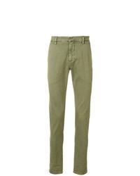 Pantalón chino verde oliva de Dondup