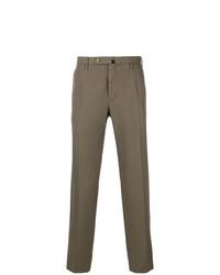 Pantalón chino verde oliva de Incotex
