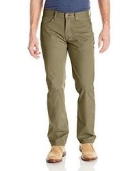 Pantalón chino verde oliva de Lucky Brand