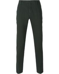 Pantalón chino verde oscuro de Dondup