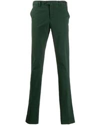 Pantalón chino verde oscuro de Pt01