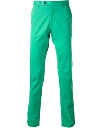 Pantalón chino verde de Fay