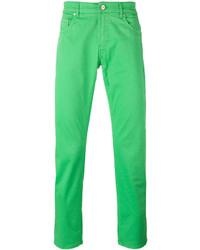 Pantalón chino verde de Pt01