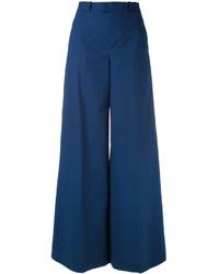 Pantalón de campana azul marino de RED Valentino