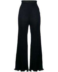 Pantalón de Campana Azul Marino de Stella McCartney