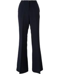 Pantalón de campana azul marino de Twin-Set