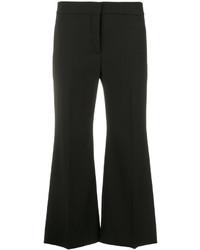 Pantalón de campana de lana negro de Valentino
