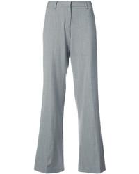 Pantalón de campana gris de Milly