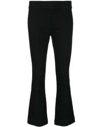 Pantalón de campana negro de Helmut Lang