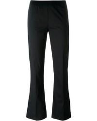 Pantalón de campana negro de Twin-Set