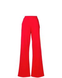 Pantalón de campana rojo de MSGM