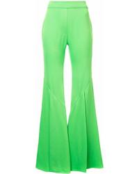 Pantalón de Campana Verde de Ellery