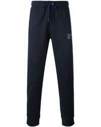 Pantalón de chándal azul marino de Fendi