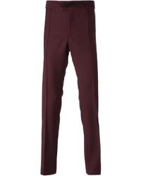 Pantalón de chándal burdeos de Valentino