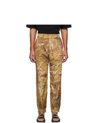 Pantalón de chándal de camuflaje marrón claro