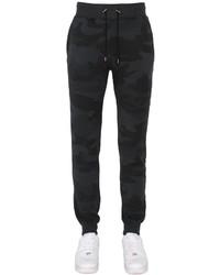 Pantalón de chándal de camuflaje negro