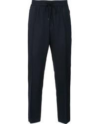 Pantalón de chándal de lana azul marino de Juun.J