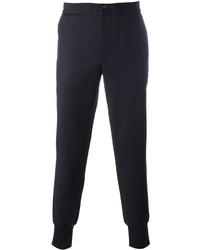 Pantalón de Chándal de Lana Azul Marino de Paul Smith